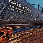BNSF NATX 76503 by Adam Northam