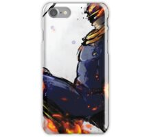 The Captain's Flying Knee iPhone Case/Skin