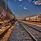 Tagged Train by anorth7