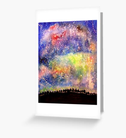 The Night Sky Greeting Card