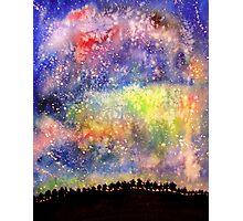 The Night Sky Photographic Print