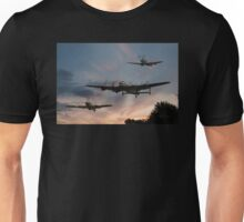 BBMF Low Pass at Sunset Unisex T-Shirt