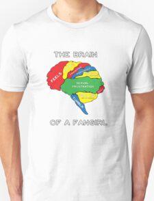 The Brain of a Fangirl T-Shirt