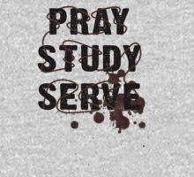 Pray Study Serve: Thorns One Piece - Short Sleeve