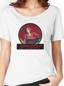 Speedy - Thea Queen - Comic Book Text Women's Relaxed Fit T-Shirt