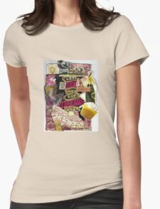 Marie Antoinette(Let Them Eat Cake) Womens Fitted T-Shirt