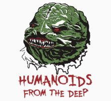 Mani Yack Humanoids from the Deep by monsterfink