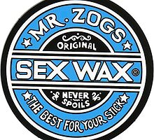 Mr Zogs Sex Wax - Blue by Leo Barbieri
