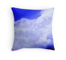 Cauliflower Cumulonimbus Cloud Throw Pillow