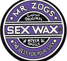 Mr Zogs Sex Wax - Purple by Leo Barbieri