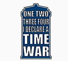 One, two, three, four, I declare a Time War Men's Baseball ¾ T-Shirt