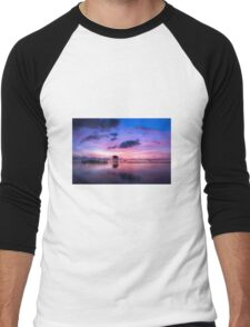 Sunrise Men's Baseball ¾ T-Shirt
