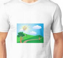 Idina Menzel Sunshine Summer Day Unisex T-Shirt