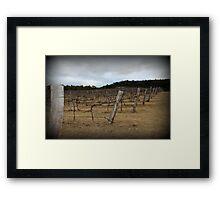 Winter Winery Framed Print