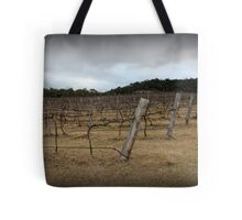 Winter Winery Tote Bag
