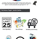 Vehicle Traffic Crashes: Death Cause - Infographic by VenuiceCraig