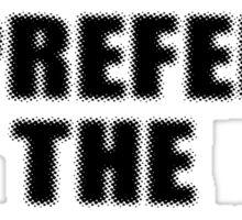 Trumpet Player Sticker - I Prefer The Trumpeter T-Shirt Sticker