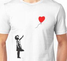 Banksy Balloon Unisex T-Shirt