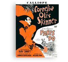 CALLIOPE (vintage illustration) Canvas Print