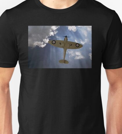 Aces High - Spitfire Vertical Climb Unisex T-Shirt