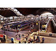 Neat Trains Photographic Print