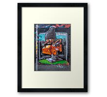 Spring Loaded Framed Print
