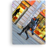 Walking to the Beat of a Darker Drum Canvas Print