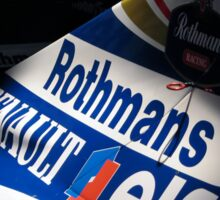 Williams FW16 - Ayrton Senna Sticker