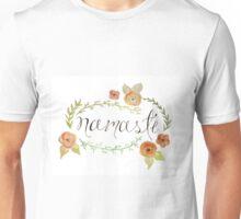 Floral Namaste Watercolor Unisex T-Shirt