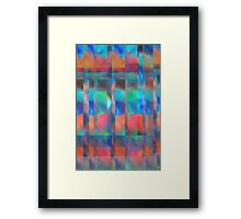 Abstract Composition #1—–June 27, 2012 Framed Print