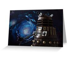 Dalek Greeting Card