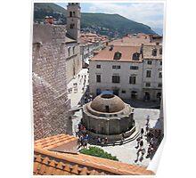 Onofrio's Fountain - Dubrovnik Poster