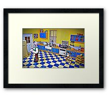 Wallace's Kitchen - Wallace & Gromit Framed Print