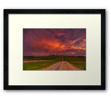 """Barrabool Tempest"" Framed Print"