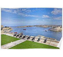 ...Valletta  / Malta.. Poster