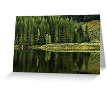 Reflections on Nature Greeting Card