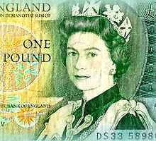 British One Pound Note by ©The Creative  Minds