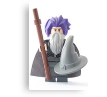 Gandalf's bad hair day, that's why he wears the hat Canvas Print