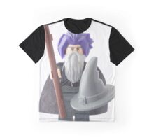 Gandalf's bad hair day, that's why he wears the hat Graphic T-Shirt