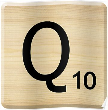 Scrabble Letter Q	 by Scrabbler