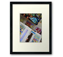 Watercolor Prints by Michael Eberhardt Framed Print