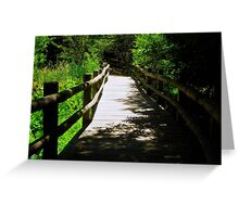 Nature Path © Greeting Card