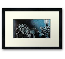 Ringside Press Framed Print