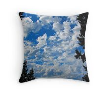 Heaven is More Glorious than This?  Indeed! Throw Pillow