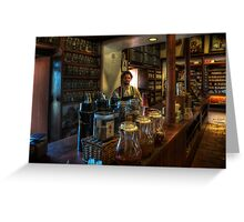 Old Town House Coffee Greeting Card