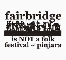 Fairbridge is NOT a folk festival! (3 inches plus a bit lower) by ligortees
