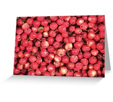 Lots of little... cherries? Greeting Card