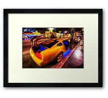 Hollywood Bumblebee Framed Print