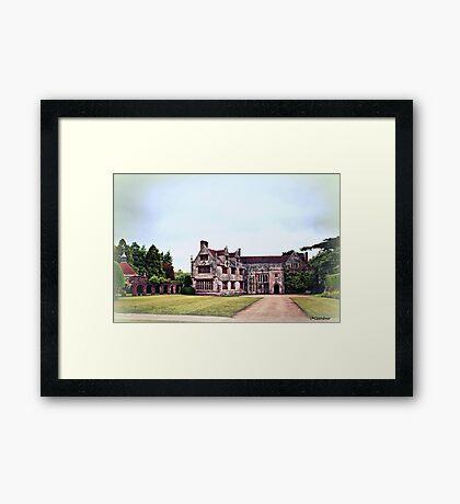 Athelhampton- The Haunted House Framed Print