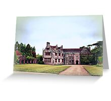 Athelhampton- The Haunted House Greeting Card